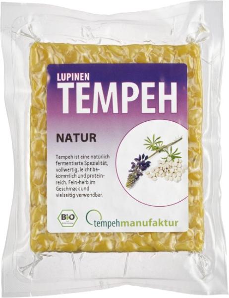 Lupinen-Tempeh Natur, haltbar (170g)