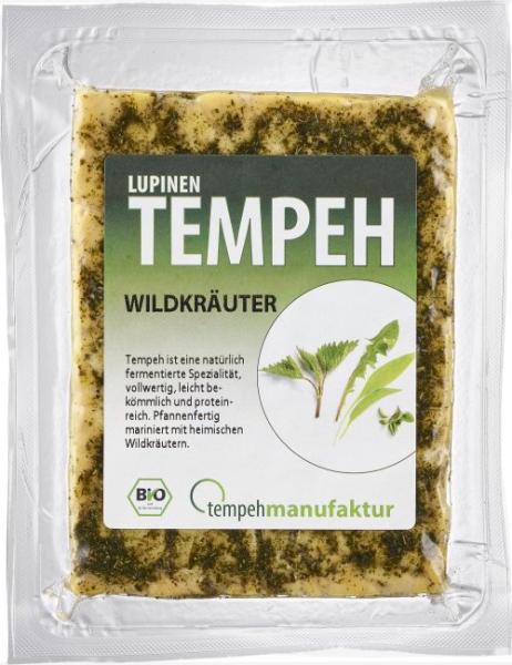 Lupinen-Tempeh Wildkräuter (170g)
