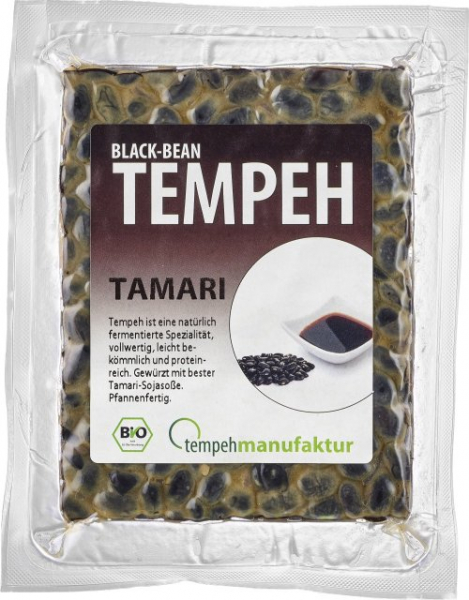 BlackBean Tempeh Tamari (200g)